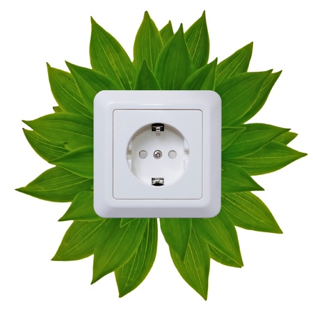 Green energy outlet  photo
