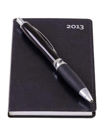 Pocket calendar with pen