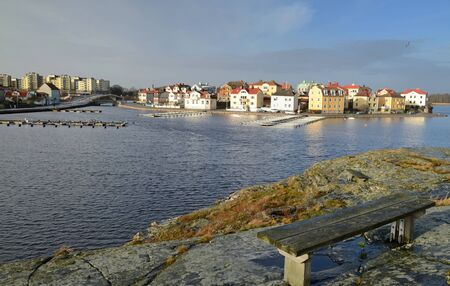 Karlskrona s winter landscape  photo
