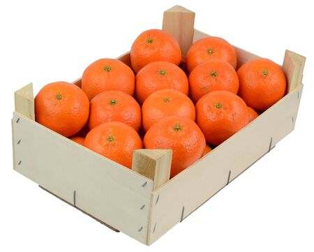 Box of clementines  photo