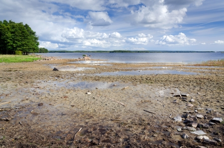 Effects of global warming on the lake