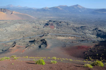 Volcano slope photo