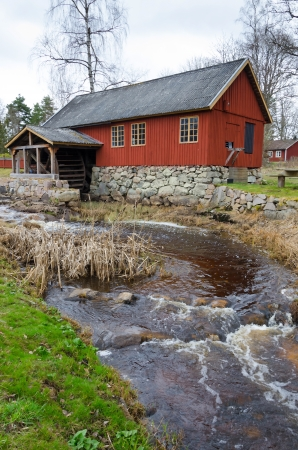The watermill photo