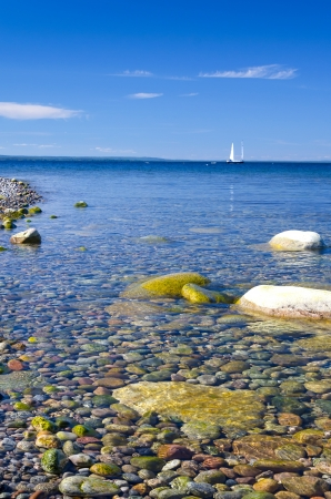 Beautiful clear calm sea Banque d'images