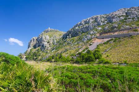Prachtige heuvels landschap op Mallorca