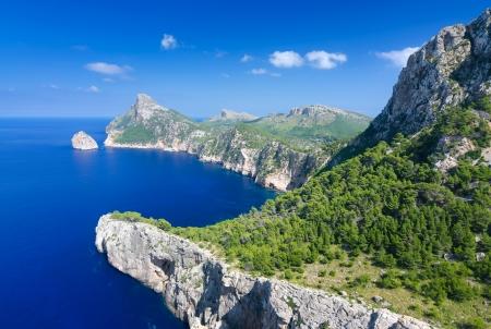 Formentor cape in de zomer landschap