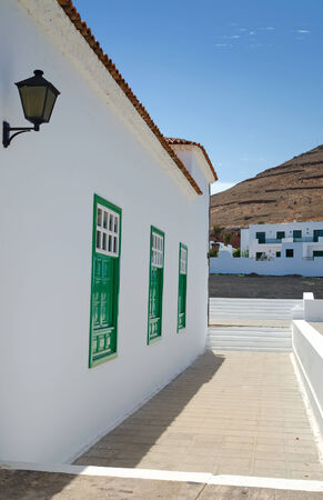 Lanzarote city architecture details photo