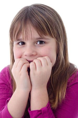 scared child: Chica Ni�o asustado
