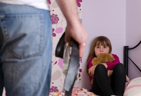 Alcohol violence family problems Banque d'images