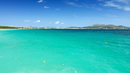 Majorca turquoise sea bay photo