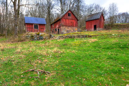 Abandoned Swedish farm photo