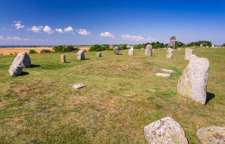 oland: Stone henge on Oland island