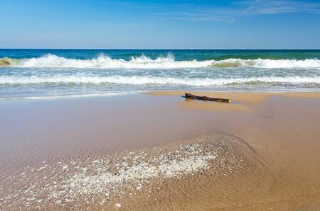 Beautiful Polish sea beach