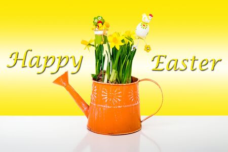 Happy Easter composition photo