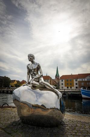 merman: The Little Merman statue