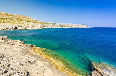 shore line: Sea shore line on Rhodes