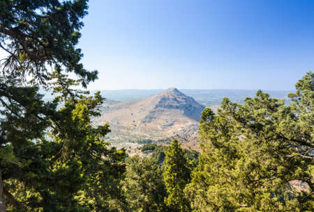 tsampika: View from the north side of Tsambika mountain