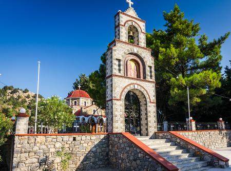 tsambika: Entrance to the church near Tsambika mountain