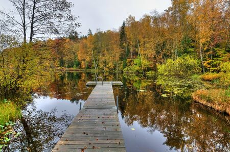 melancholijny: Melancholic autumn scenery