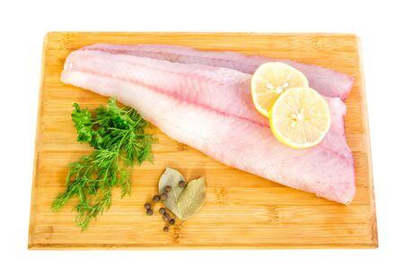 walleye: Fresh walleye fillets