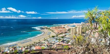 Plaża Las Vistas - panorama krajobrazu