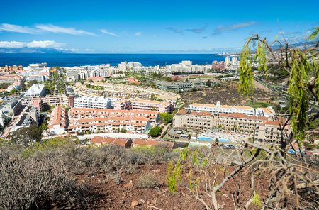 Hill view for Los Cristianos - Tenerife