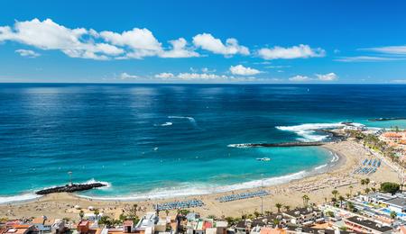 La spiaggia di Las Vistas a Tenerife