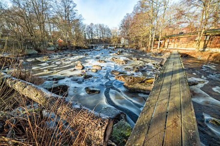 Morrum river in January - pool1