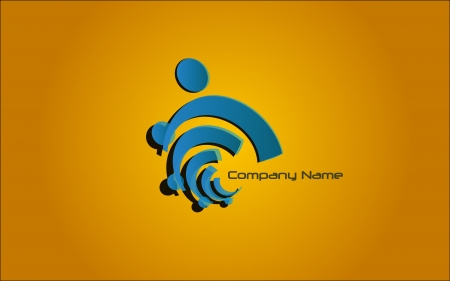 globally: Logo Blue
