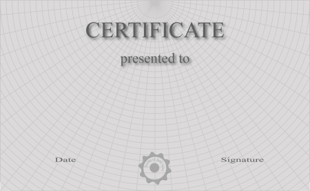 ratification: Professionally designed certificate, which is fully editable. Illustration