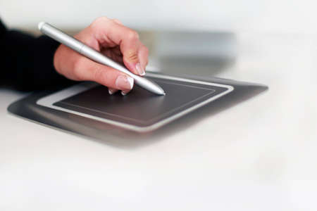 the plotting: Plotting with the graphics Tablet