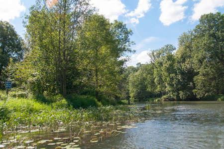 biosphere: Boat trip in the biosphere reserve of Spreewald, Germany