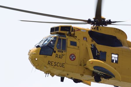 air show: Sea King; RAF; Search and Rescue; SARF; 22 Squadron; chopper; helicopter; Seaking; Air Show