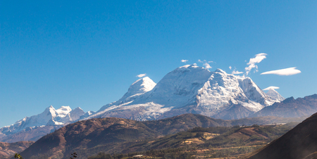 Andean mountains near Huaraz Peru