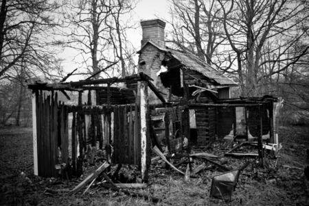 Burned House