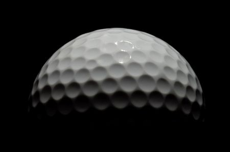 Golfball moon Stock Photo