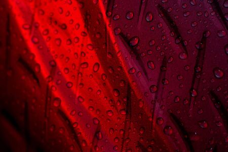 Water Drops Red