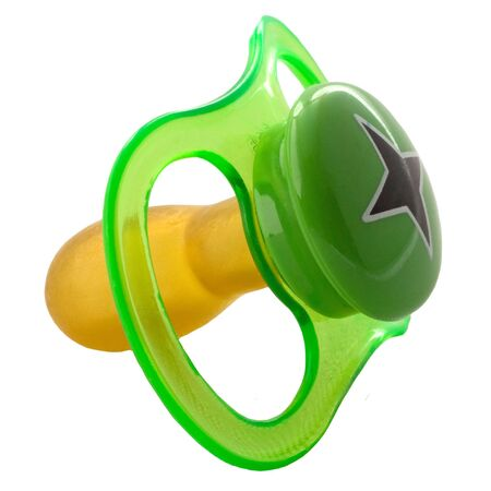 Pacifier Stock Photo
