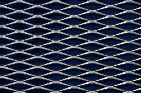 A steel diamond pattern, good for backgrounds. Nice texture.