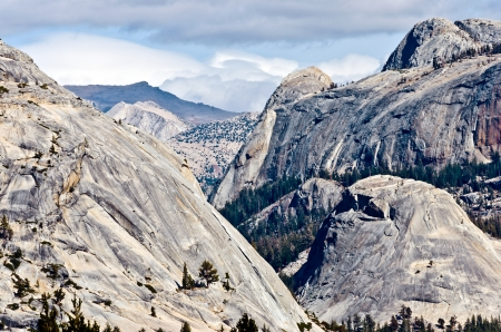 Spectacular high country of Yosemite National park. Stock Photo
