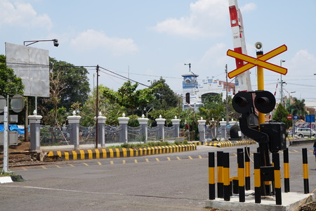 YOGYAKARTA: Doorstop train in Tugu Train Station, Yogyakarta, Indonesia Editorial