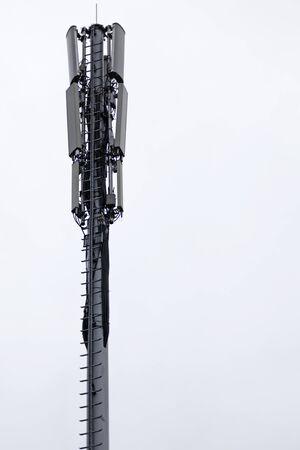5G antenna recently erected on Teg in Umea 2019 Stockfoto