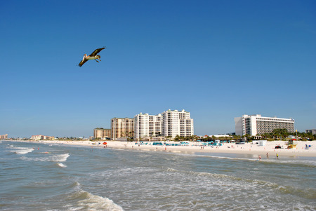 pinellas: Clearwater Beach Florida Stock Photo