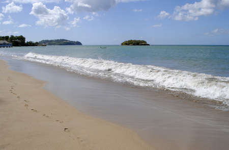 lucia: Warfe Beach St Lucia