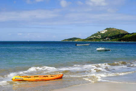 st lucia: Halcyon Beach in St Lucia