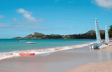saint lucia: Sandals Halcyon Beach in St Lucia