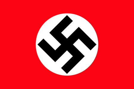 An image of the national flag of Nazi Germany Editorial