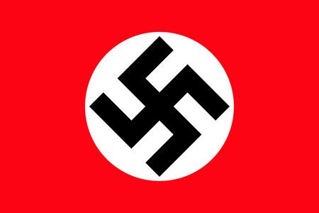 Ein Bild von der Nationalflagge von Nazi-Deutschland Standard-Bild - 36220308