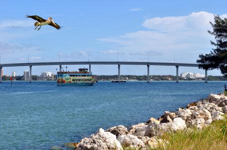 pinellas: Sea view in Florida Editorial