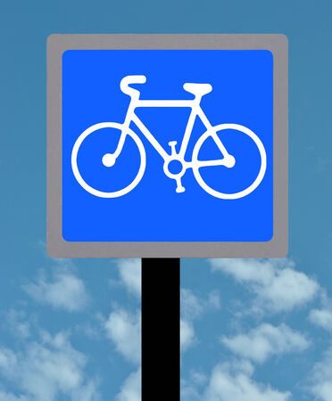 symbol vigilance: Cycle lane sign